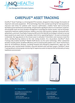 CarePlus Asset Tracking